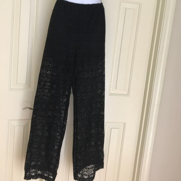xhilaration lace beach wear coverup pants with built in shorts from yvonne 39 s closet on poshmark. Black Bedroom Furniture Sets. Home Design Ideas